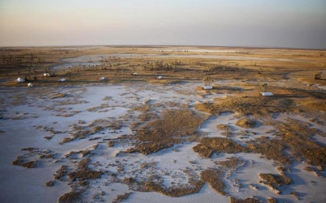 San Camp, loin de la foule en voyage au Botswana