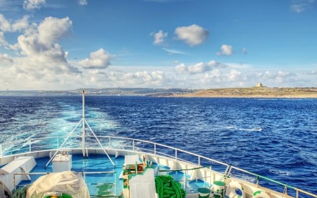 Trajet en ferry de l'île de Malte à Gozo - En voyage sur mesure à Malte