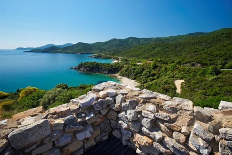 Les paysages de Chalcidique en voyage en Grèce du Nord