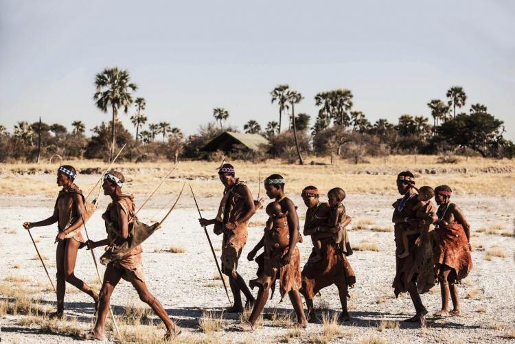 Visite guidée du Makgadikgadi avec vos guides bushmens au Botswana