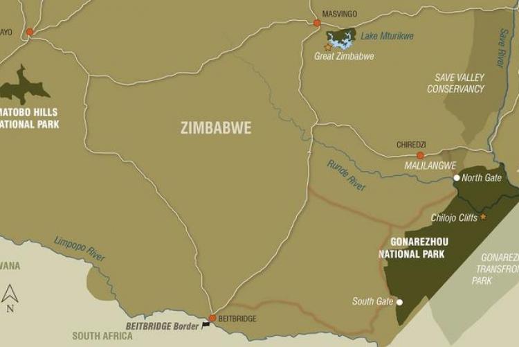 Voyage sur mesure au Zimbabwe à Gonarezhou et Malilangwe