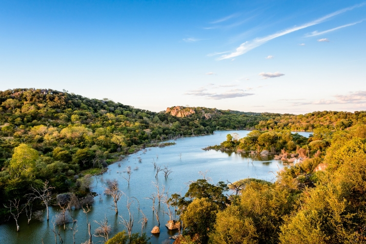 Zimbabwe, réserve privée de Malilangwe à côté du parc de Gonarezhou
