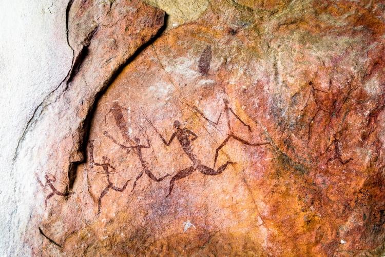 Voyage sur mesure au Zimbabwe - peintures rupestres à Malilangwe