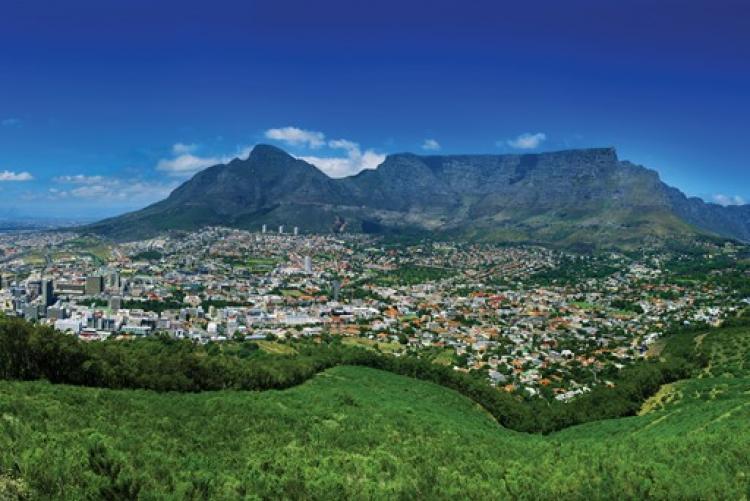 Cape Town et la Montagne de la Table, Afrique du Sud