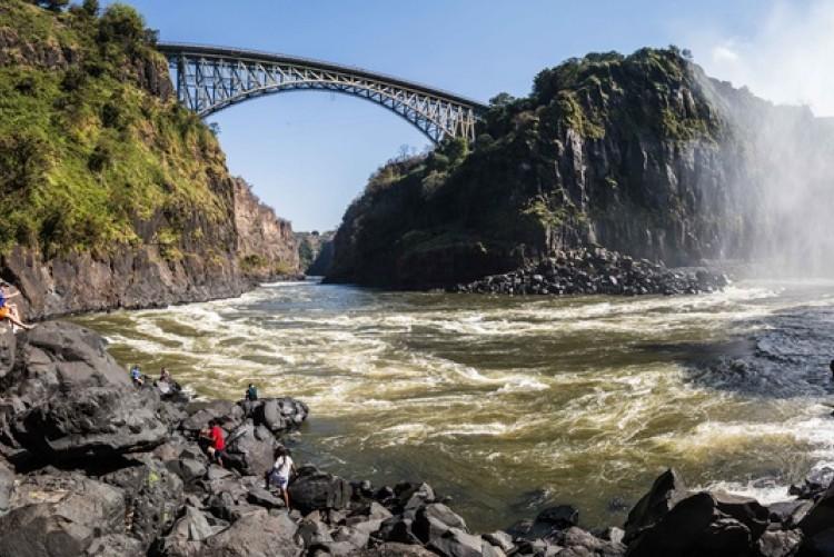Voyage de noces Chutes Victoria - Zambie