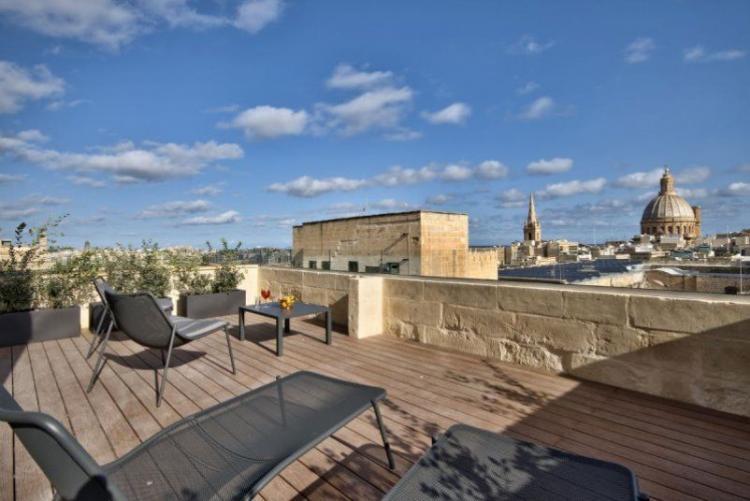 L'hôtel La Falconneria à La Valette, à Malte