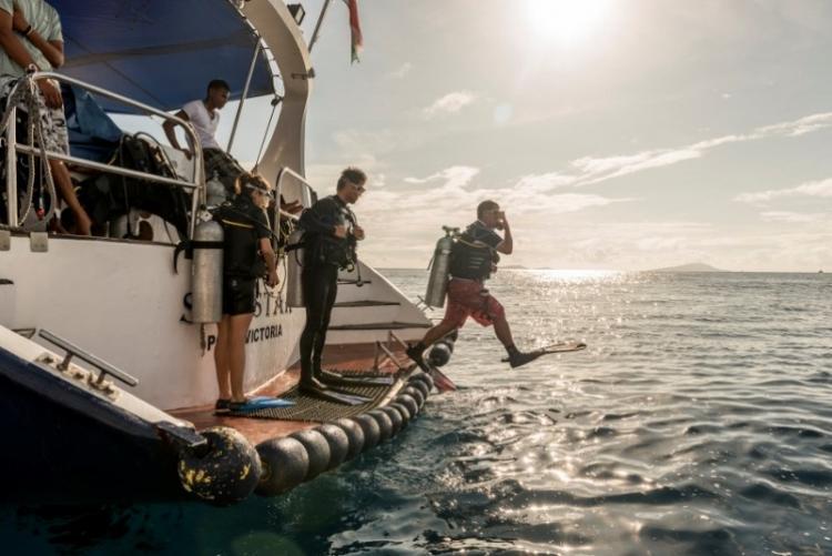 Plongée aux Seychelles