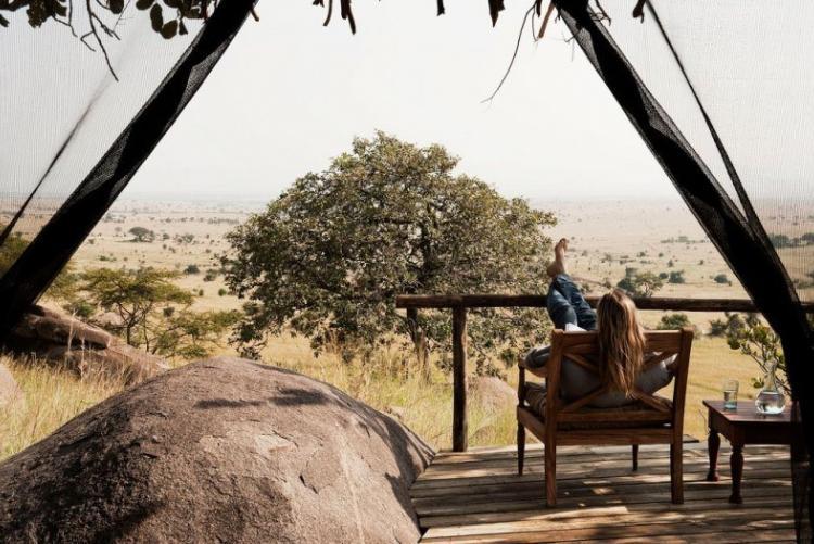 Votre tente à Lamai Serengeti Camp en safari en Tanzanie