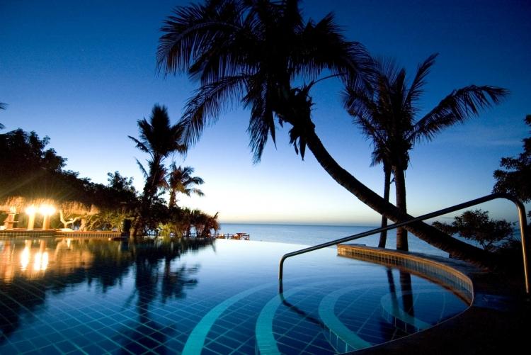 A l'Anantara Bazaruto une piscine est dédiée aux adultes, une autre aux enfants