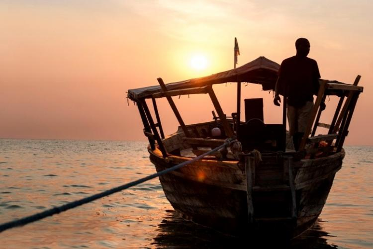 Croisière sur le lac Tanganyika en Tanzanie aux Malahe Mountains
