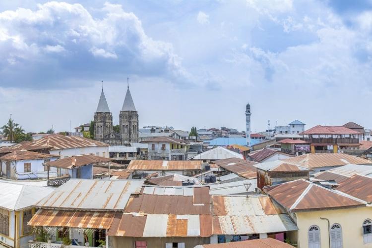 Séjour à Zanzibar - les toits de Stone Town, la vieille ville