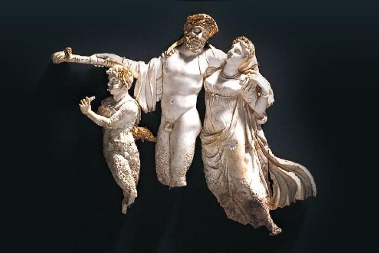Trésors du site archéologique d'Aigai à Vergina en voyage en Macédoine grecque