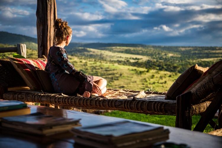 En safari à Borana Lodge au Kenya, la vue est spectaculaire