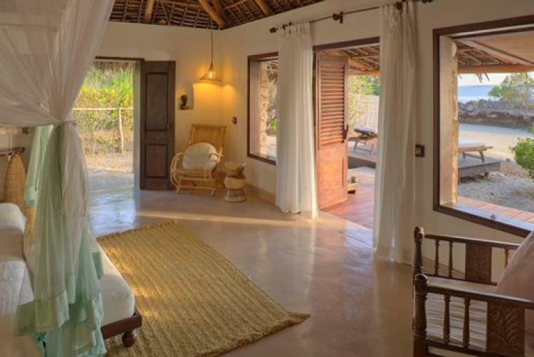 Votre chambre à Azura Quilalea dans l'archipel de Quirimbas au Mozambique