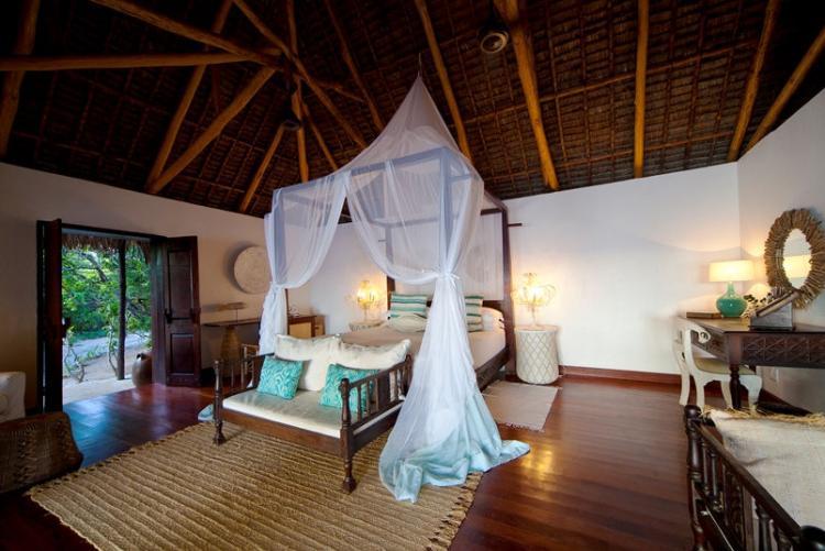 Votre chambre à l'Azura Quilalea aux Quirimbas au Mozambique
