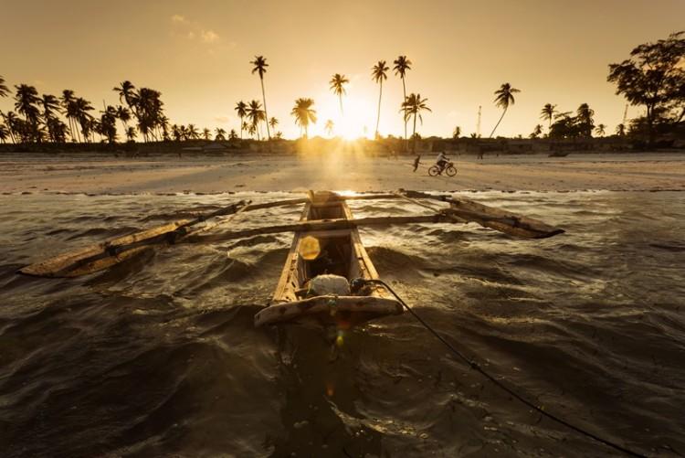 Coucher de soleil sur Zanzibar en séjour Tanzanie