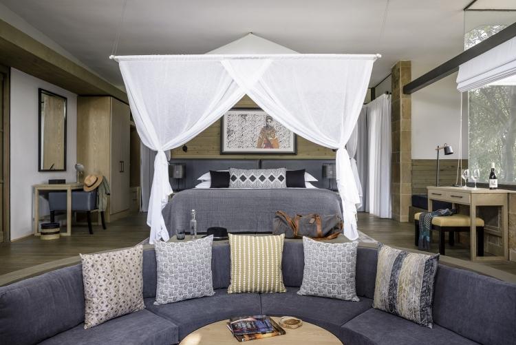 Votre chambre à Olonana Sanctuary Lodge