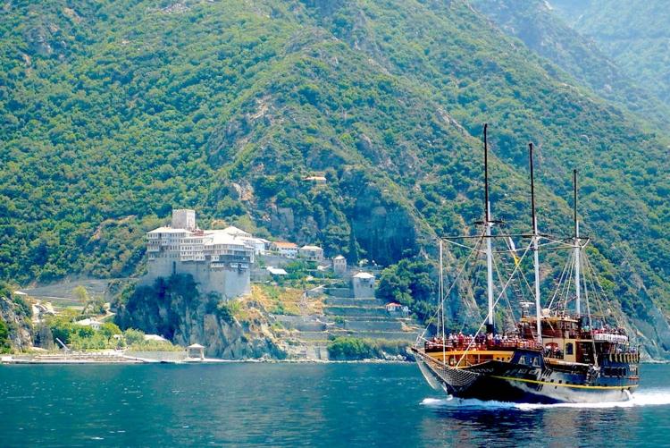 voyage grèce mont athos