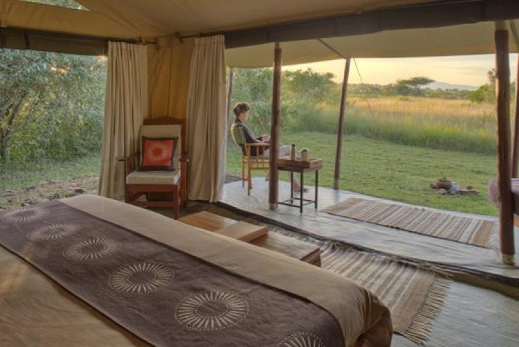 Un séjour en petit camp de toile au Maasai Mara
