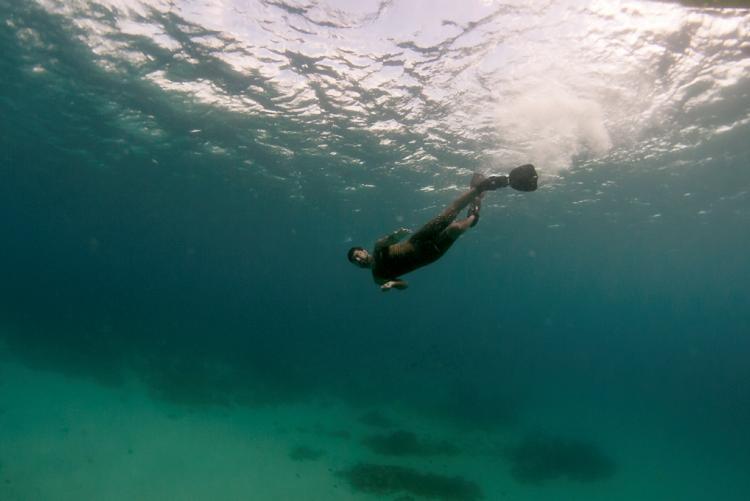 Plongée dans les eaux de Nuarro au nord du Mozambique