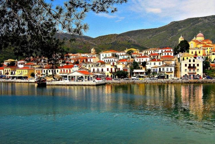 Le petit village de Galaxidi (crédit photo Hotel Aegli Arachova)