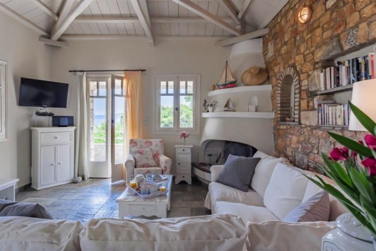 Maison privée à Alonissos, Archipel des Sporades, Voyage en Grèce, Vacances dans les îles