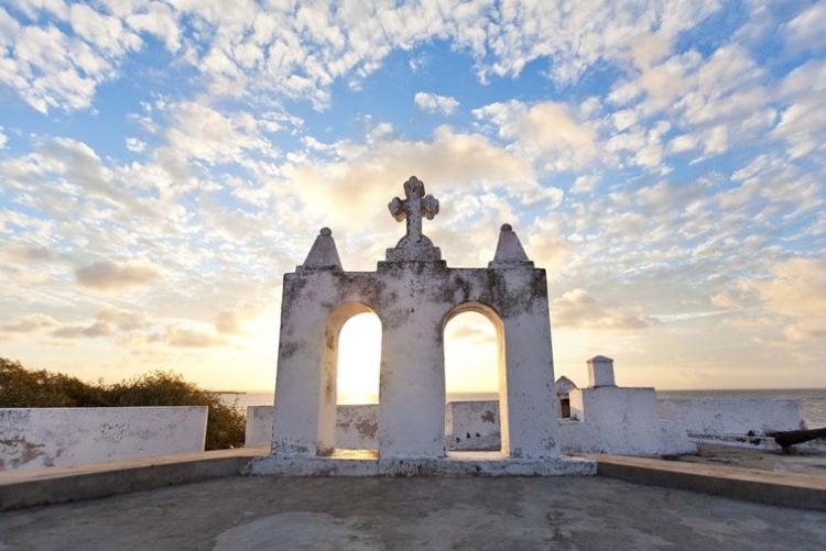 Le fort d'Ibo Island dans les îles des Quirimbas, en voyage au Mozambique