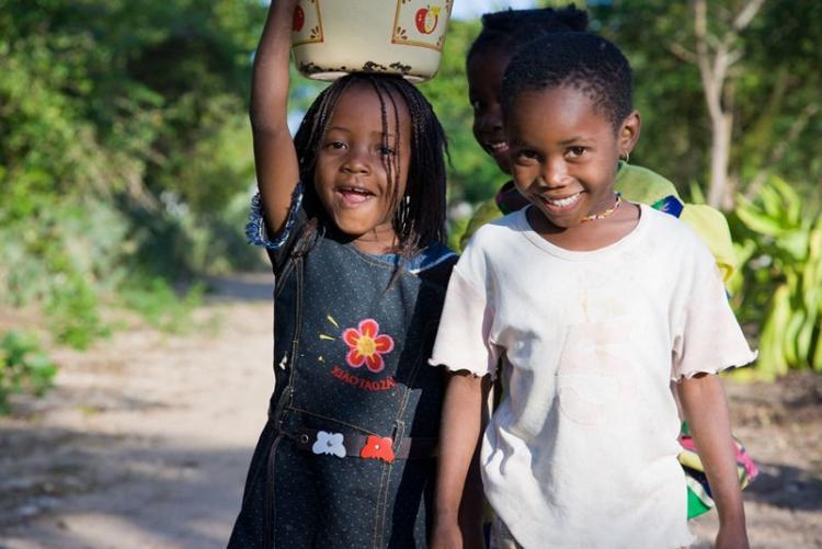 L'accueil tout sourire lors de votre voyage au Mozambique