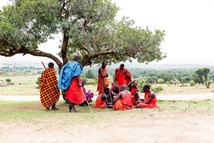 A Olonana, vous rencontrez les Masaai du village voisin.