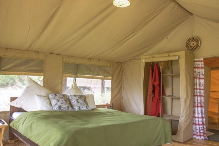 Tout le confort d'une chambre en camp de toile au Serengeti (Safari Tanzanie)