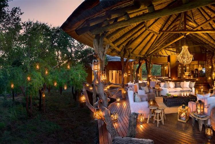 Madikwe Safari Lodge, le lounge de Lepala