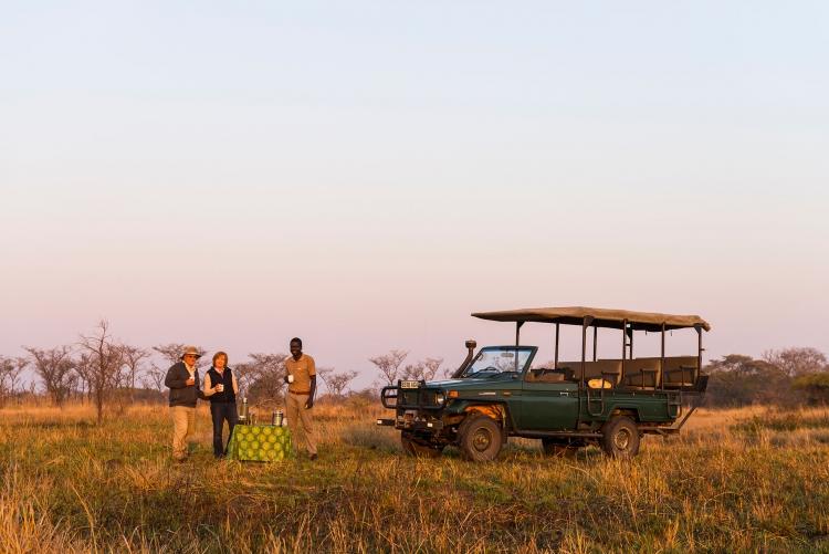 Safari en 4x4 à Nanzhila Plains au parc de Kafue en Zambie