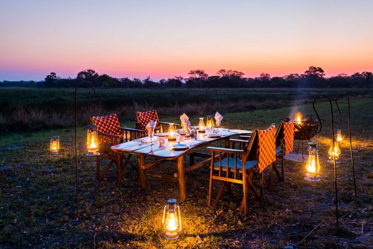 Safari à Nanzhila Plains au parc de Kafue en Zambie