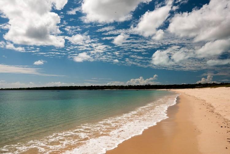 La plage de Nuarro au nord du Mozambique