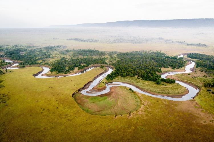La rivière Mara, dans la réserve de Masai Mara
