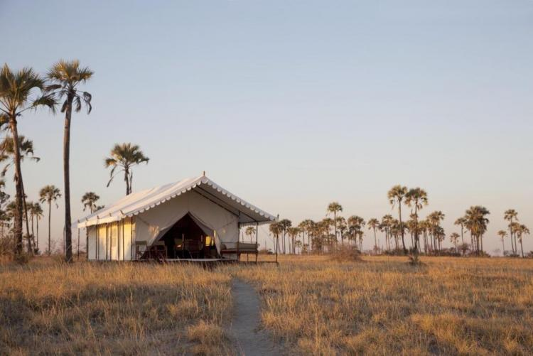 San Camp, Pan du Makgadikgadi (Photo © David Crookes)