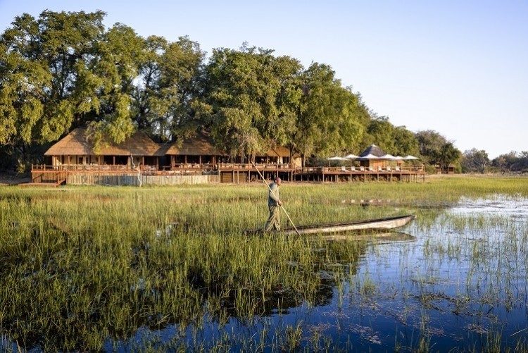 Botswana camp safari delta okavango