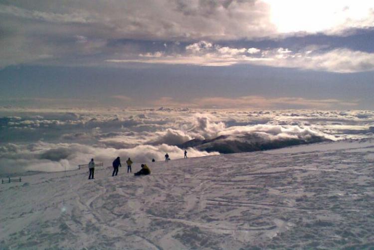 Ski au mont Kaimaktsalan en vacances de noel en Grèce du nord