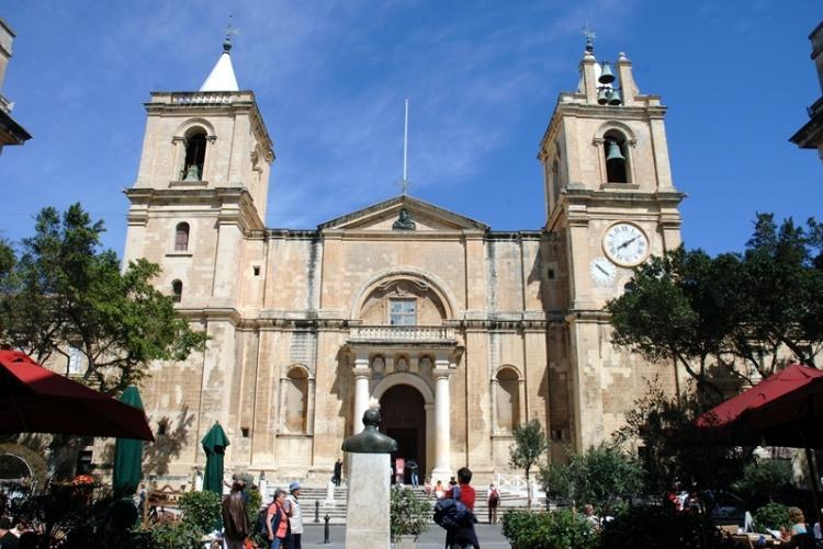 La co-cathérale Saint Johns à La Valette, en voyage à Malte