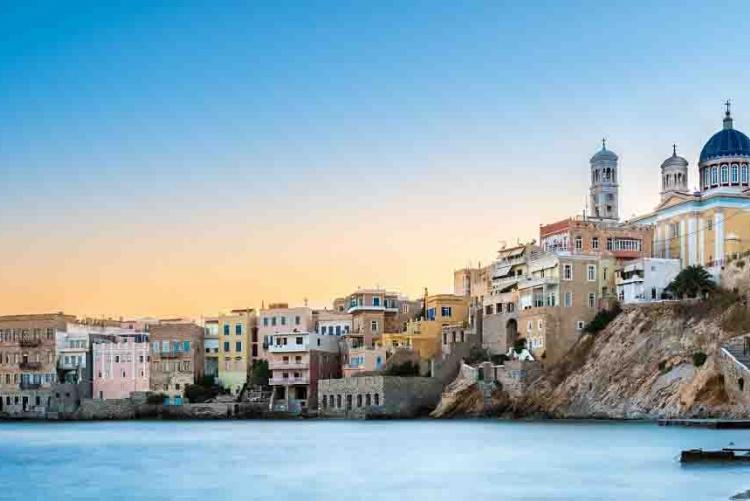 Voyage Cyclades Tinos Syros Mykonos