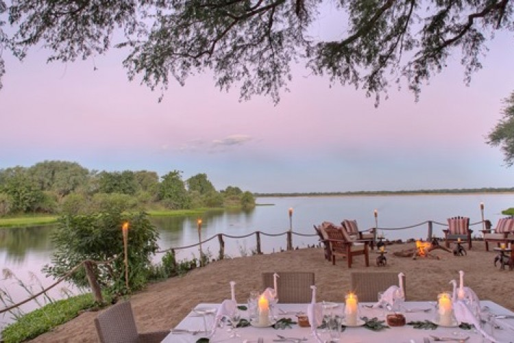 Le camp de Chongwe River camp au Lower Zambezi