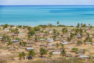 Les villages et les baobabs voisins de Nuarro, en voyage au Mozambique