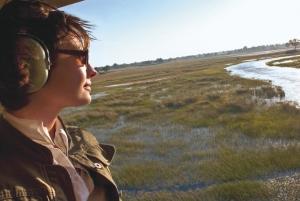 Safari en hélicoptère dans le delta de l'Okavango